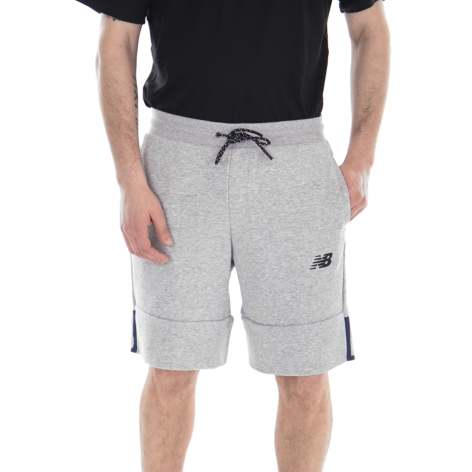 wholesale dealer 4b527 861f8 Details about New balance Shorts Ms81529 Nb Athletics short Athletic Gre -  short Grey