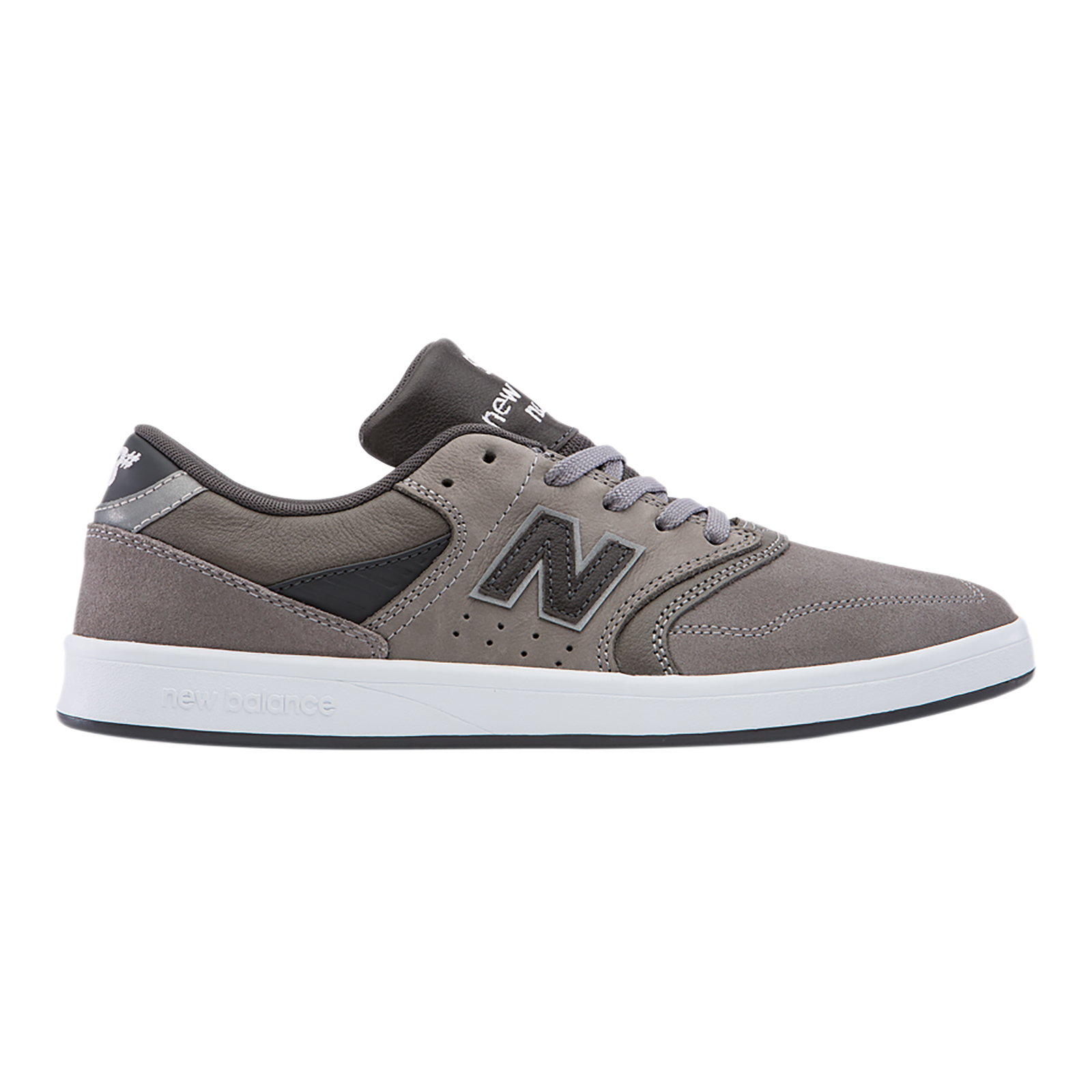 New Balance Chaussure Numérico Skateboarding Gris Ante / Leather D Gris Gris