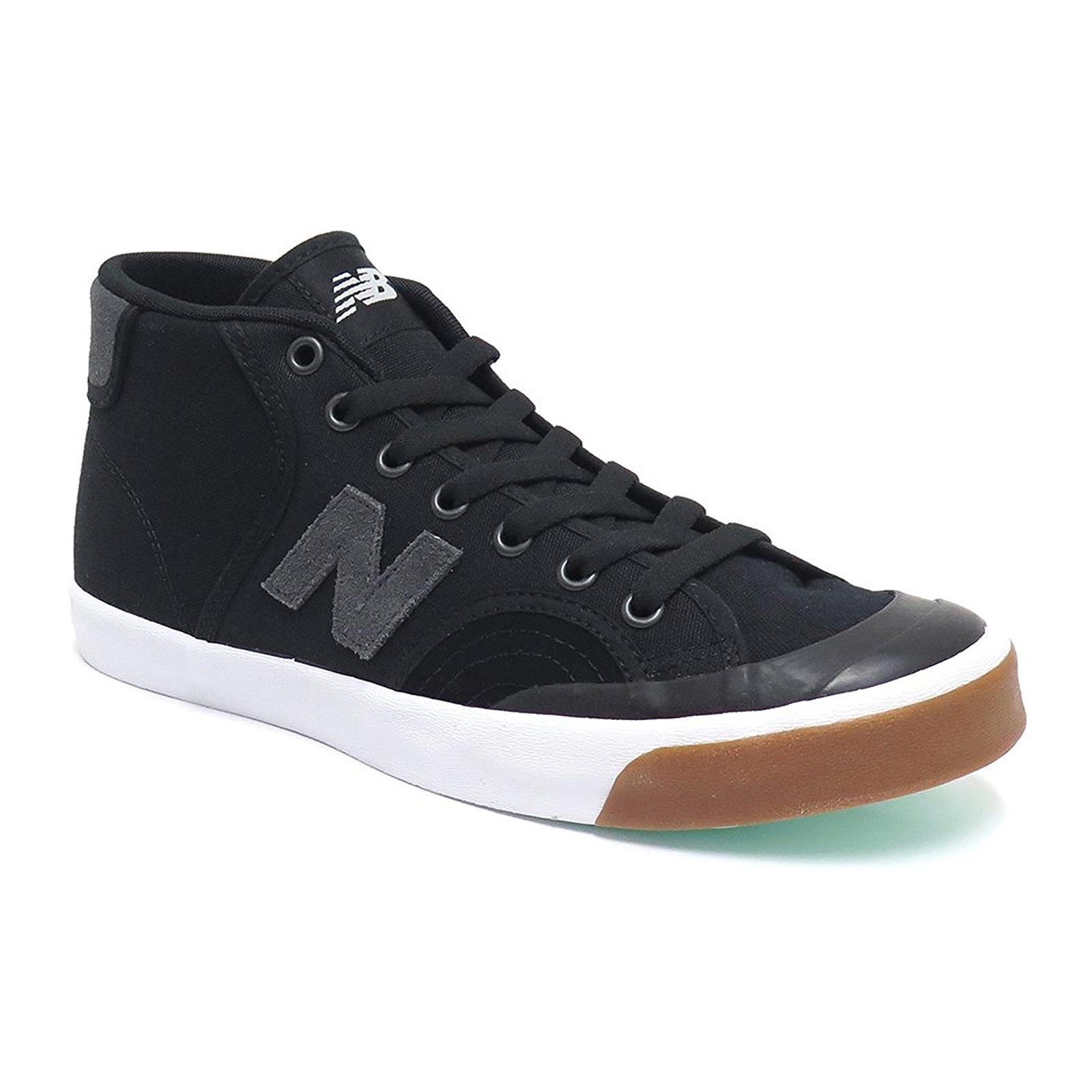 New Balance Sneakers Numeric Skateboarding BlackGrey Canvas