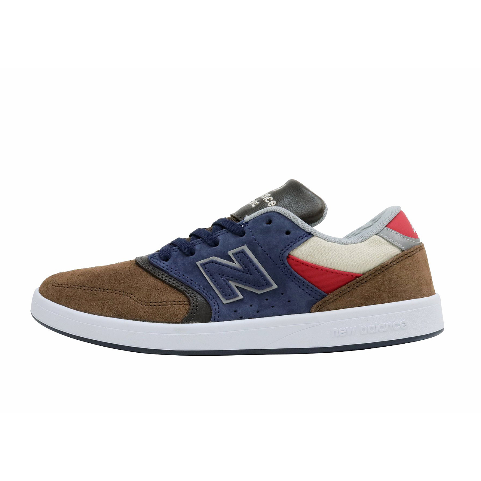 New Balance Baskets Numérique Skateboarding Brun/Bleu Daim / Leather brun