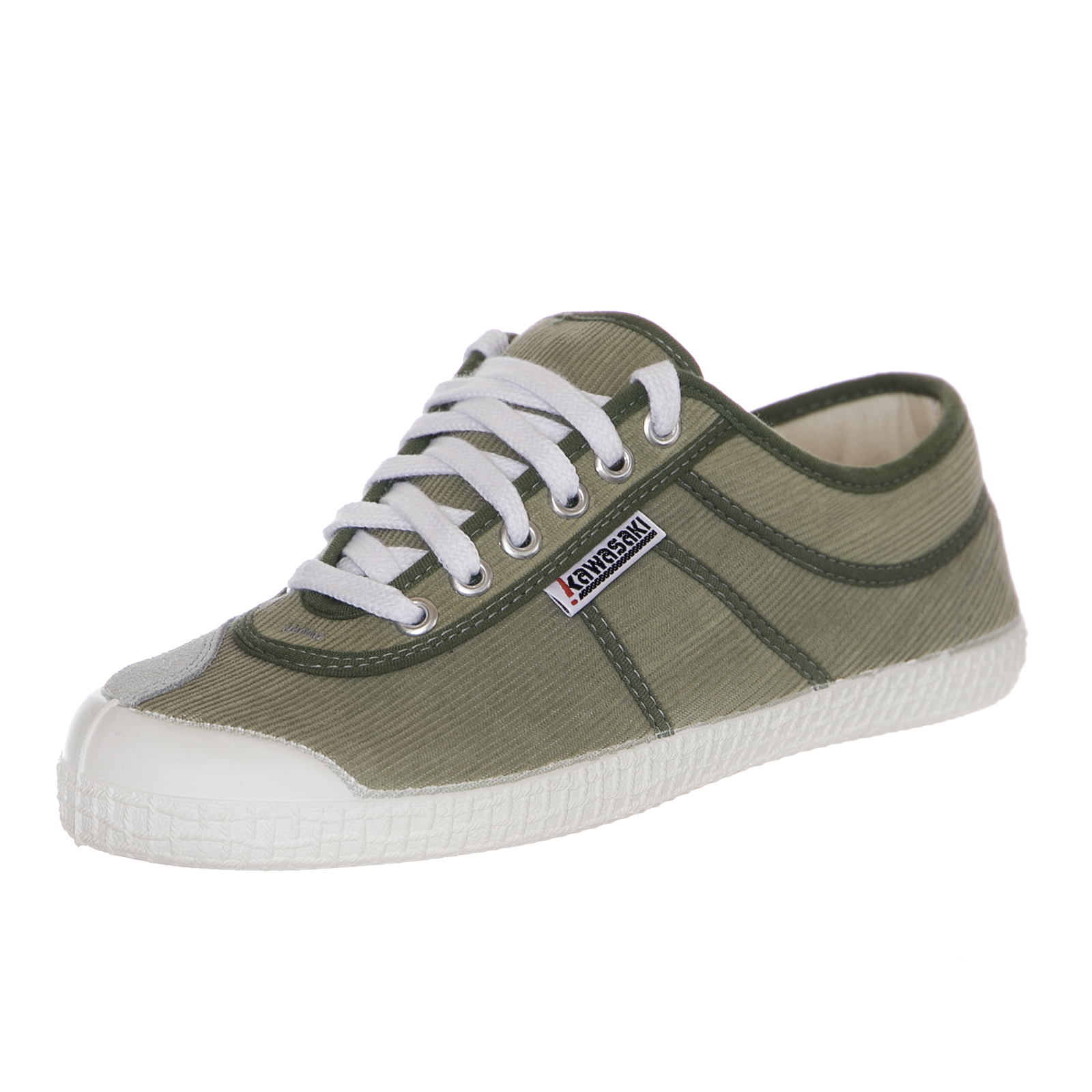 best website 72507 30400 Details about Kawasaki shoes Sneakers v11 Velvet Green White Green White  Sneakers- show original title