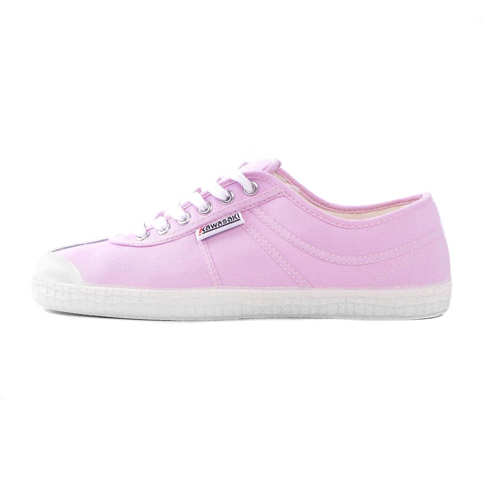 new product acc8b fc23e Dettagli su Kawasaki scarpe 72 rosa sneakers canvas