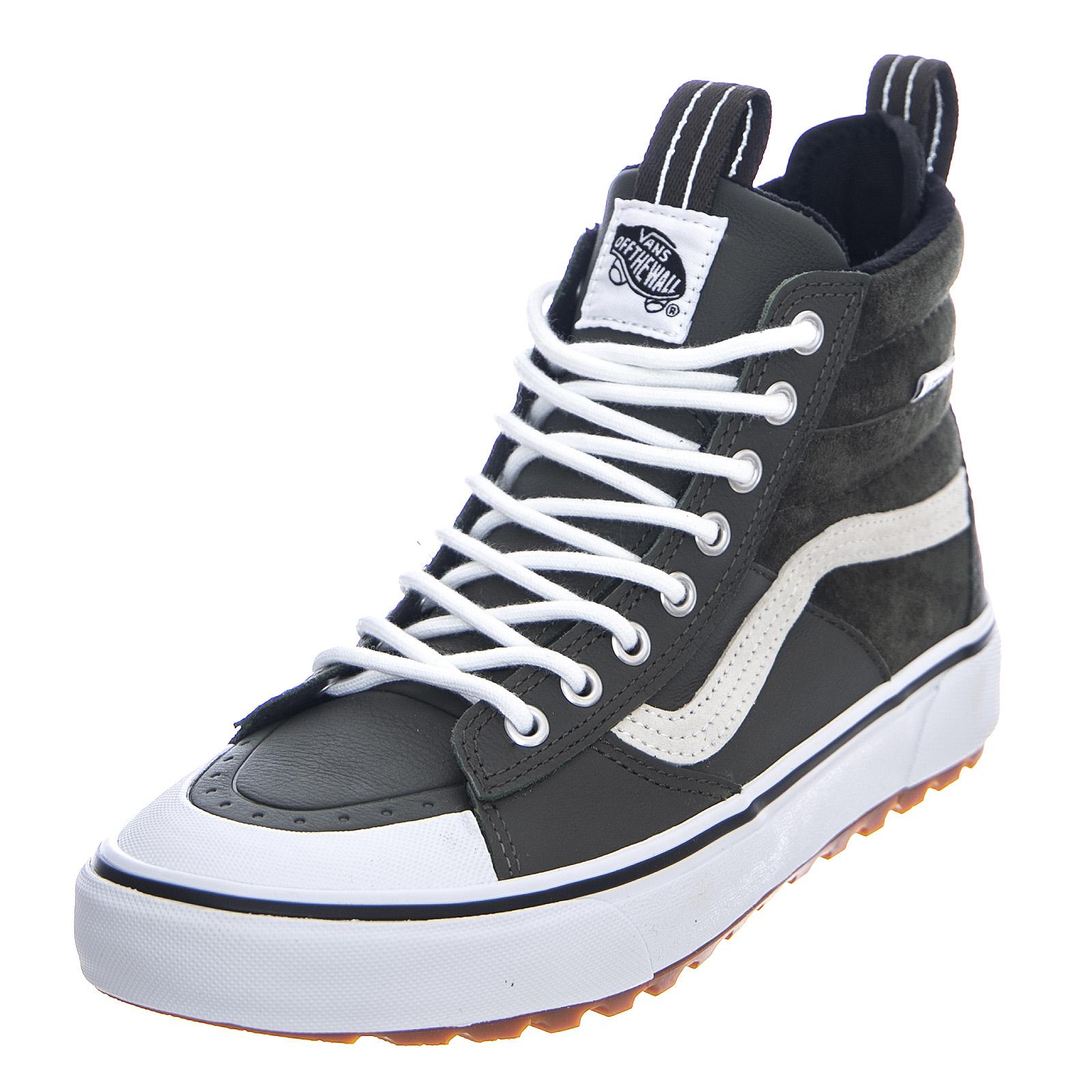 Details about Vans sk8 hi mte 2.0 dx forest night true white shoes high man green