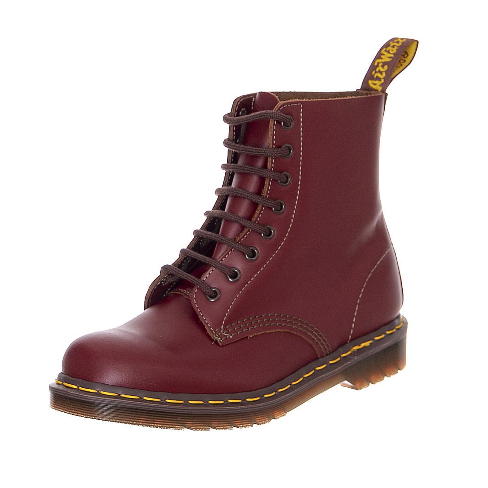 Details about Dr.Martens 1460 Vintage Oxblood Quilon Combat Boots Man Burgundy