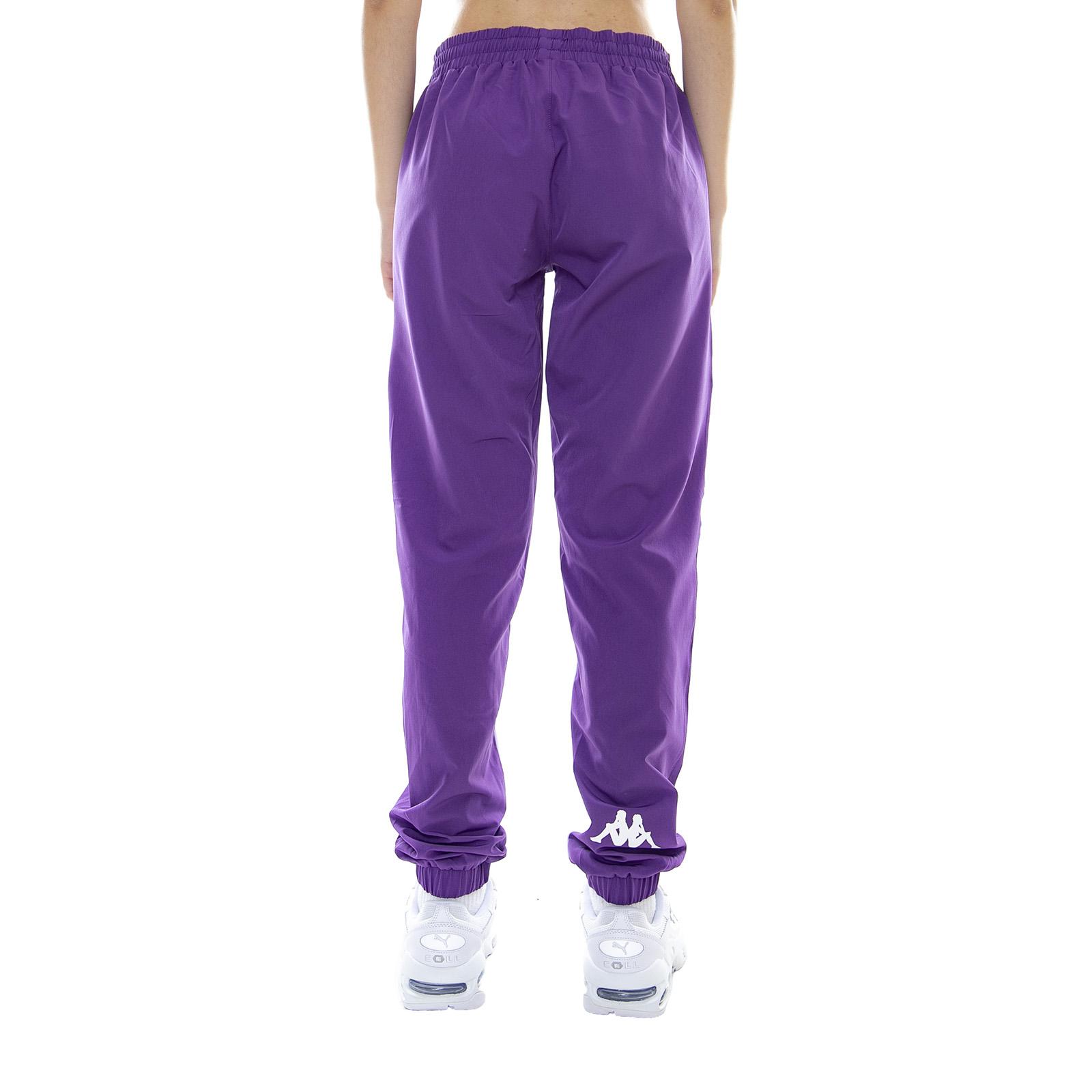 6c26c3851fa4 Kappa 222 Banda Bawon Violet Pansy/White - Pantaloni Sportivi Da ...