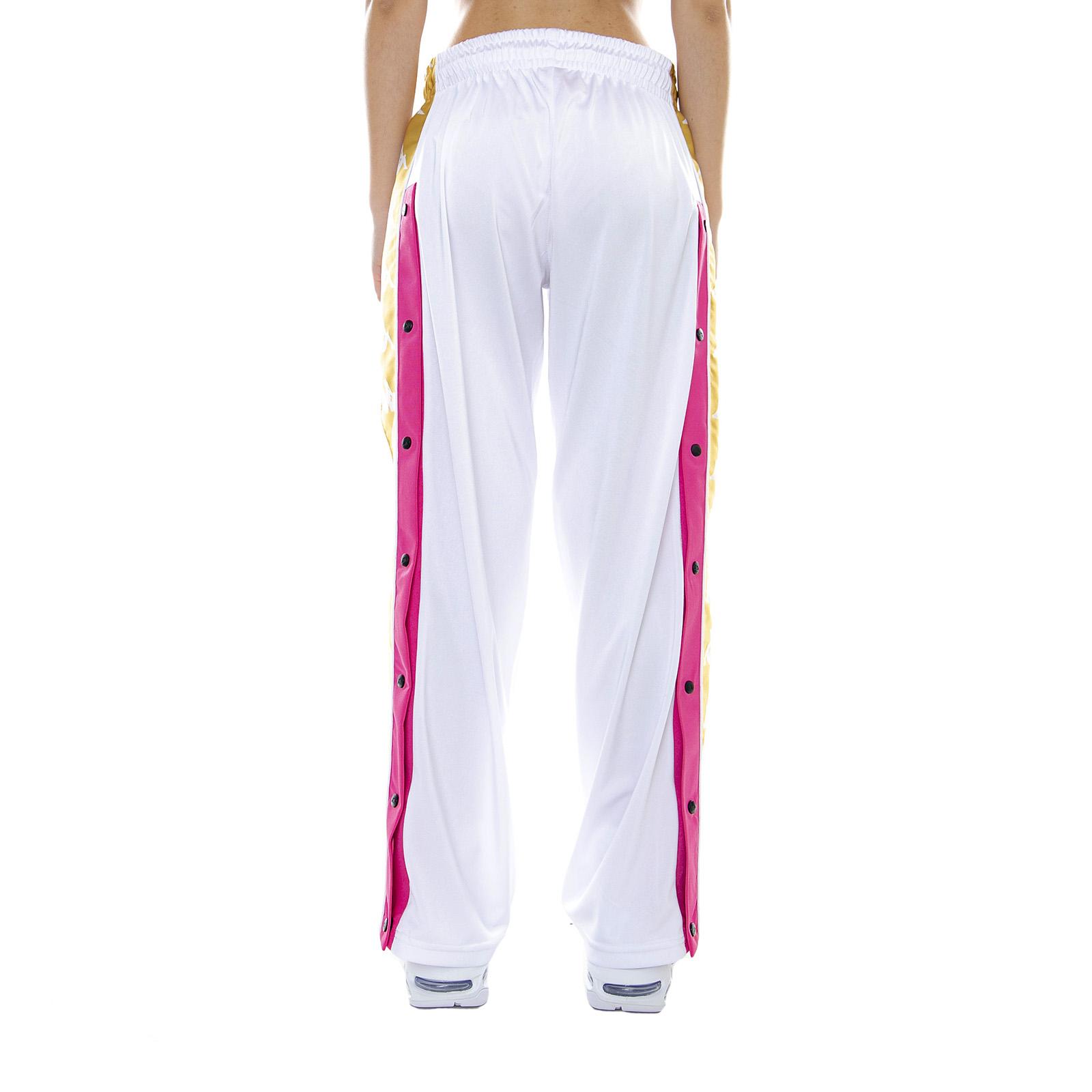 ae4ef007b674 Kappa 222 Banda Baish White/Fuchsia/Yellow - Pantaloni Sportivi Da Donna  Bianco 3 3 di 4 ...