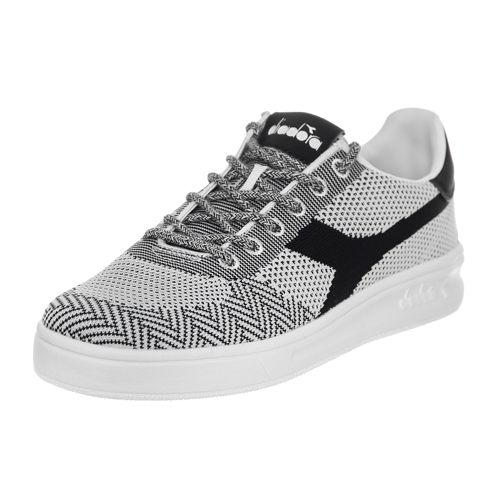 Diadora Sneakers B.Elite Weave White   Black Bianco  2645c37183b