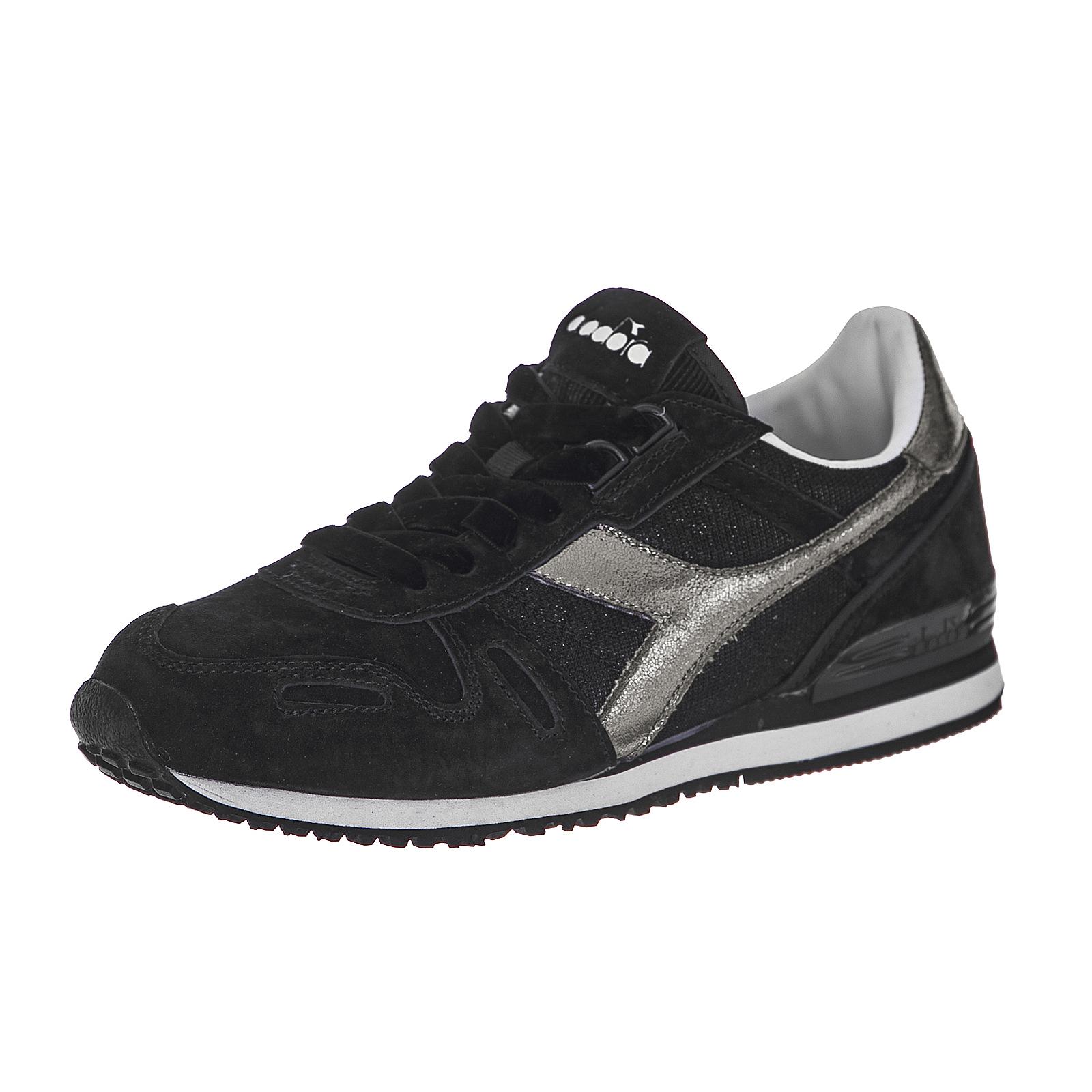 Diadora Sneakers Titan Wn Premium Black Nero  1147ee90b6b