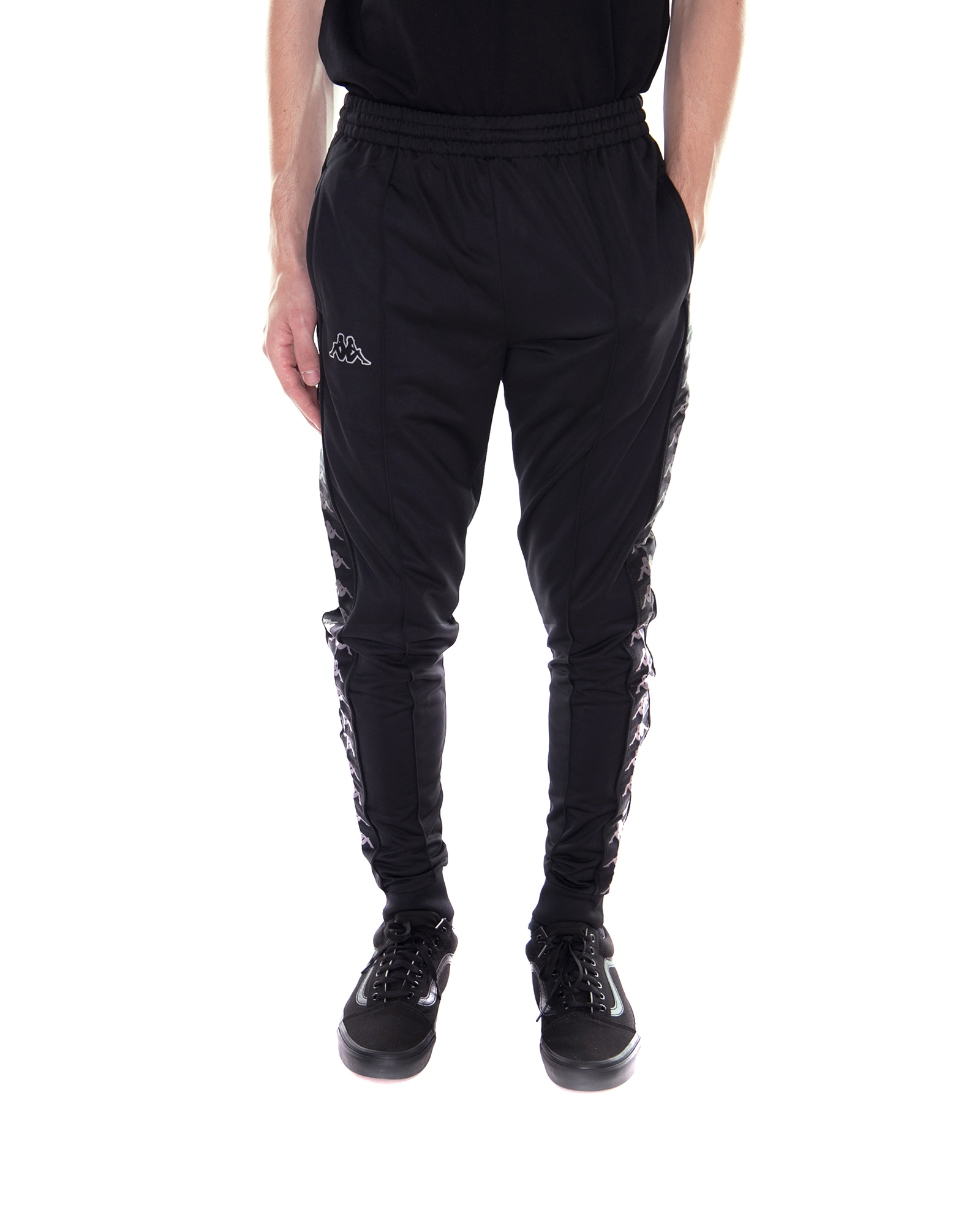 Kappa Band 222 Ebay Slim Black Rastoria Trousers Blackgrey rxaqCwrv