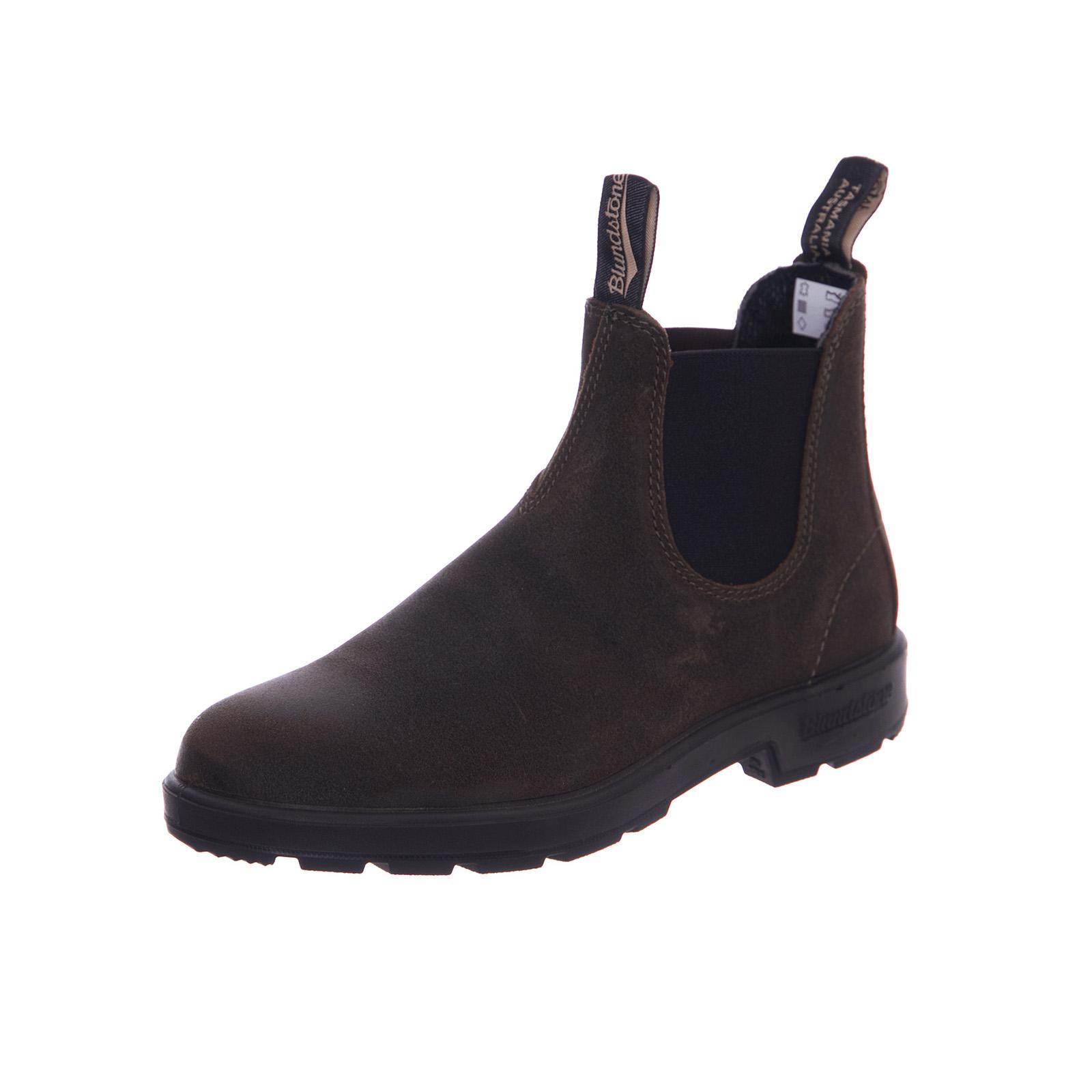 2b47277cdda4c Blundstone Stivali 1615 Elside Boot Old Suede Dark Green Verde