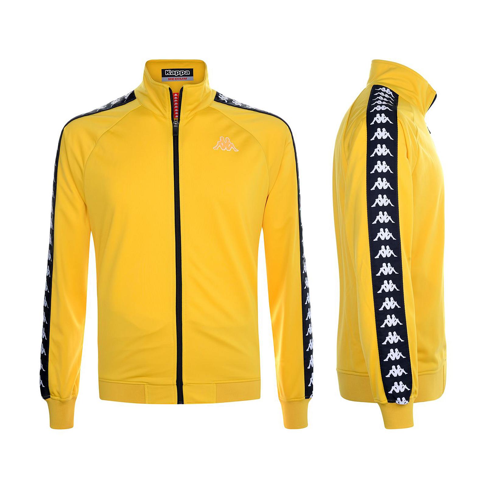Comment Faire Du Jaune Moutarde détails sur kappa 222 bande anniston slim jaune moutarde-noir jaune jaune