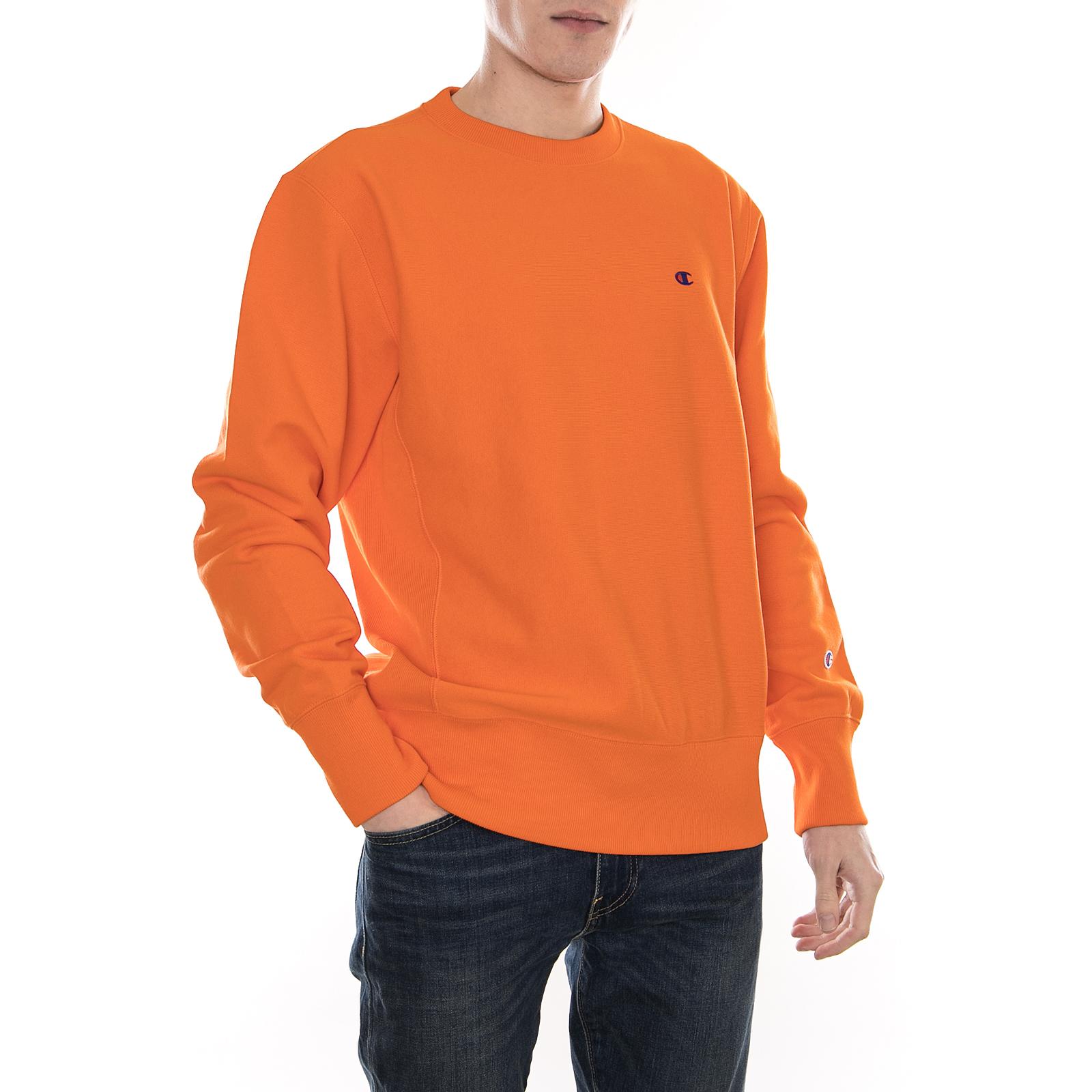 Champion Felpe Crewneck Sweatshirt Org Arancione