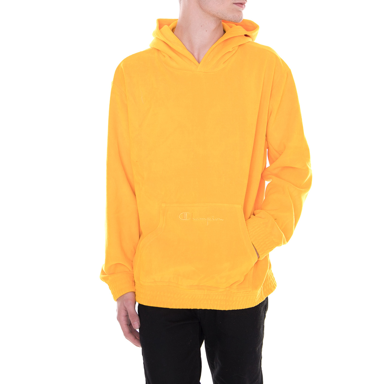new york incredible prices shop Détails sur Champion Sweatshirts Pull À Capuche Jaune Jaune