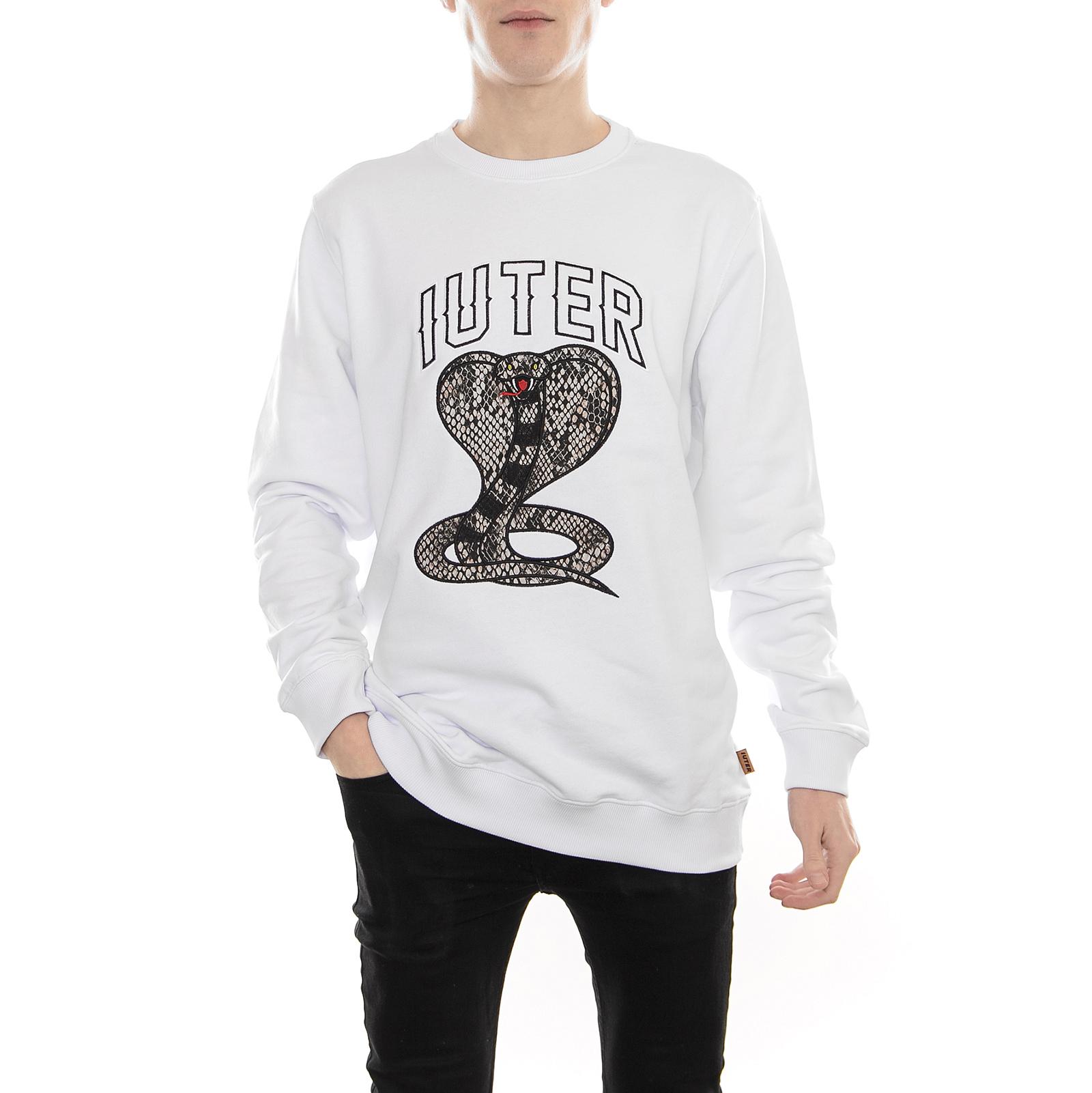 Iuter Iuter Iuter Sweatshirt Cobra Crew Weiß Weiß 6537c4