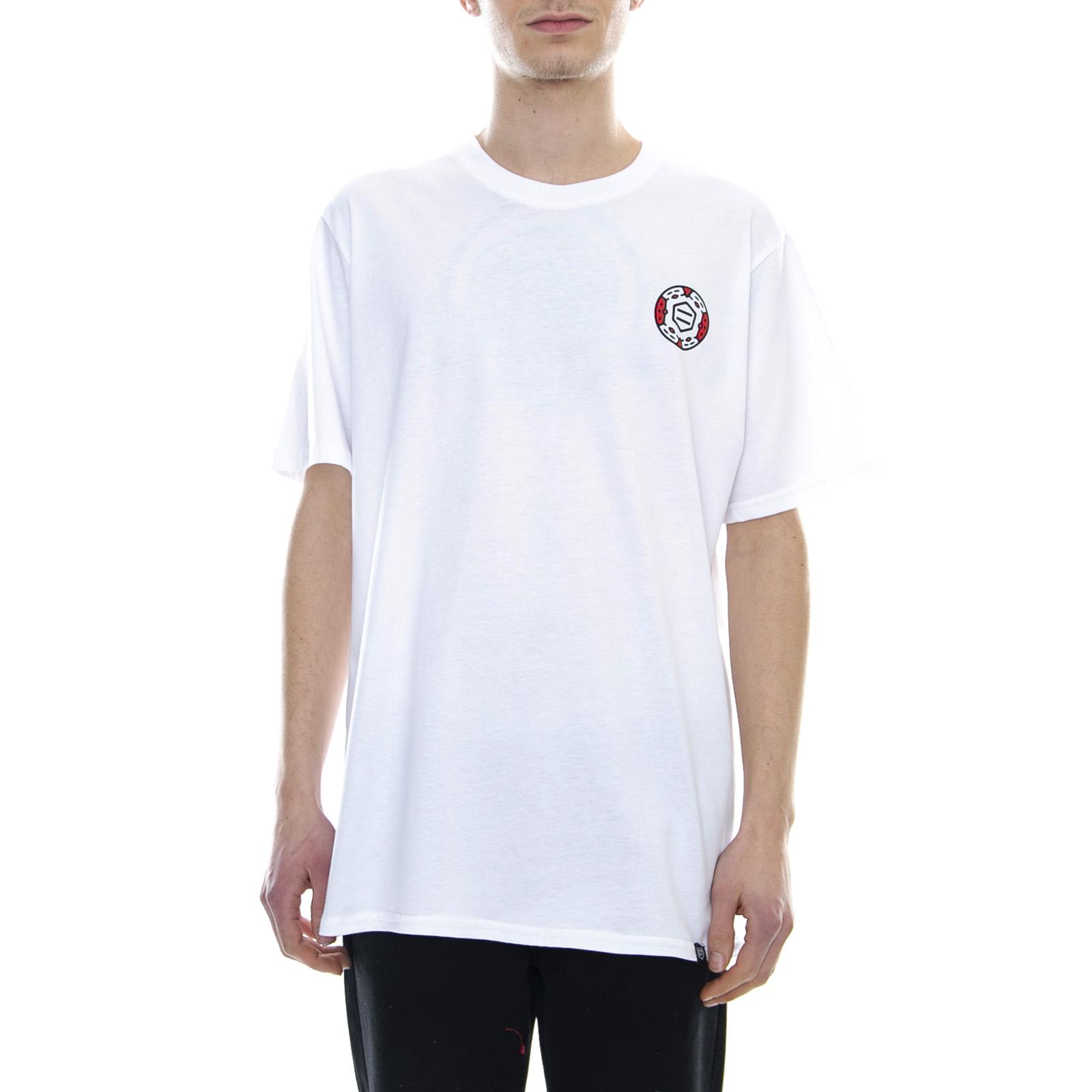 96008d5e0 Dolly Noire African Shield T-Shirt - White - Maglietta Da Uomo Bianco 2 2  di 3 ...