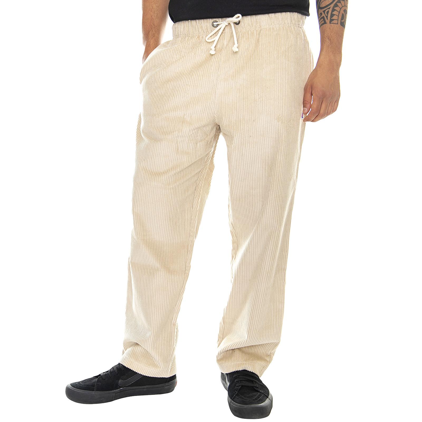 vendita calda online a0cea dc0b8 Dettagli su Champion Spg Pants - Beige - Pantaloni Velluto Uomo Beige Beige