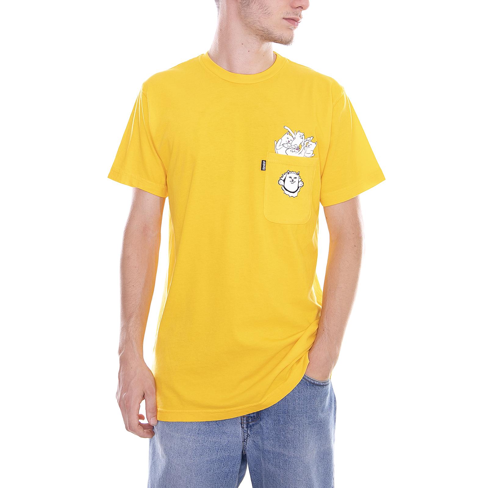Ripndip T-Shirt gefüllt Gold Gold