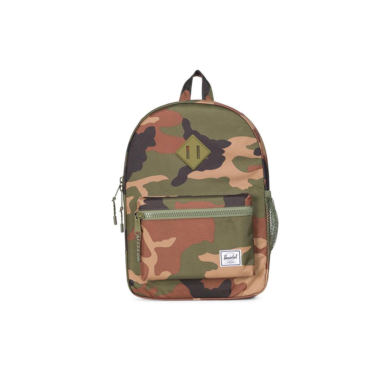 2e7a7e9f9b Herschel Heritage Youth Backpack Bag 38 Cm (woodland Camo-army ...