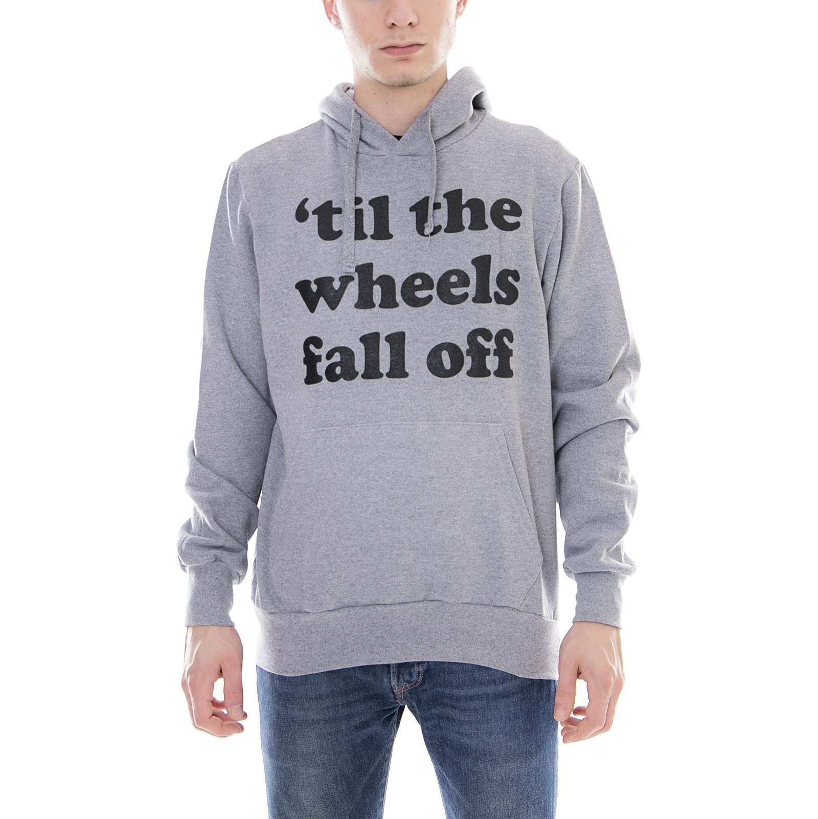 C1rca Felpe Wheels Hood Athletic Grau Grigio