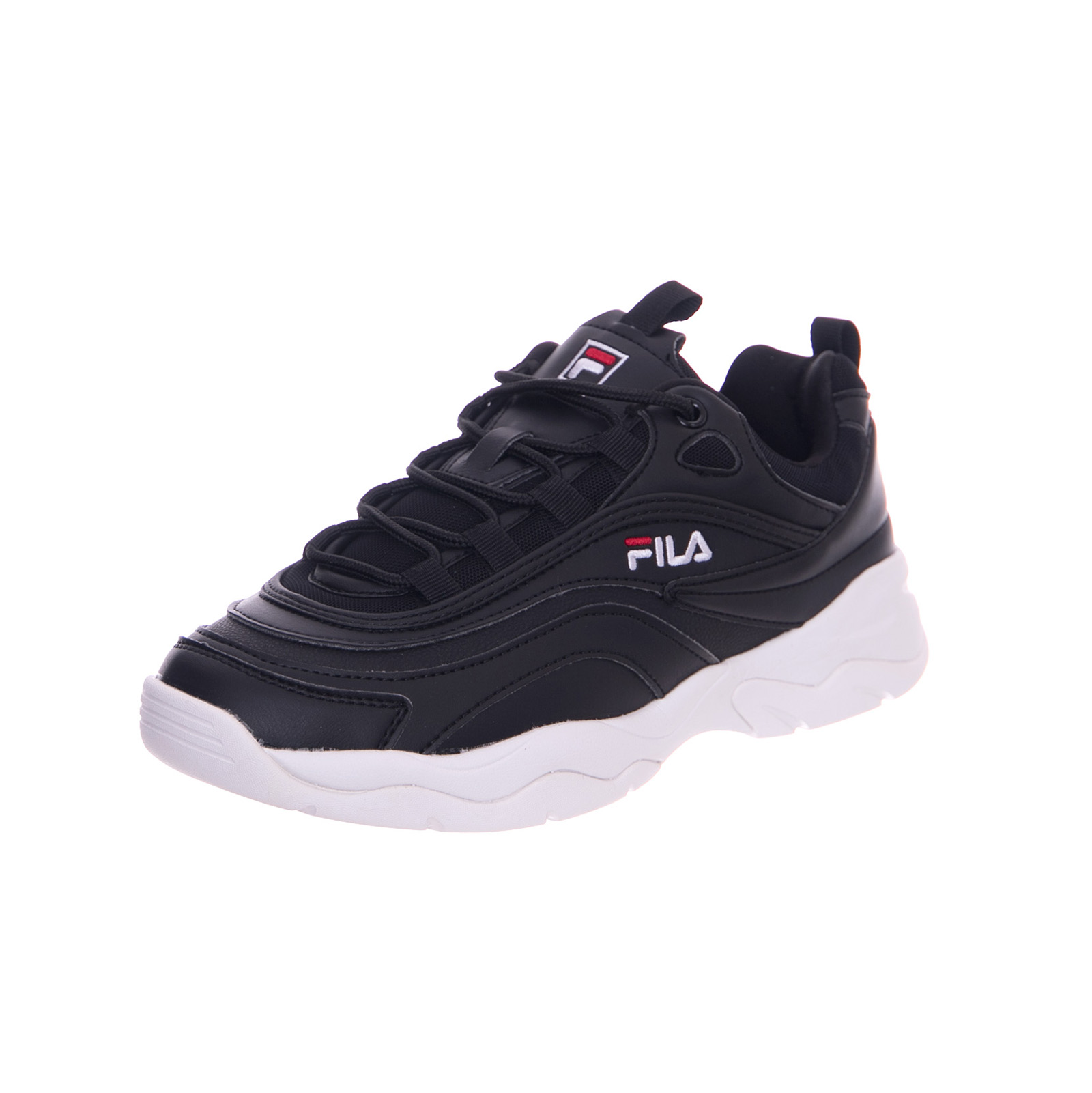 Details about Fila Sneakers Ray Low Black Nero