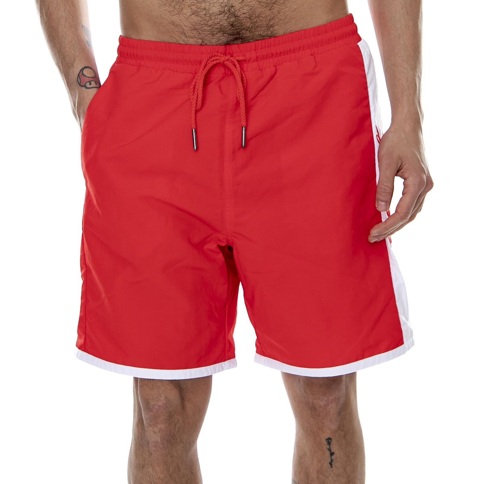 Uomo Core Swim Shorts Rosso | Costumi da bagno Nike · Free