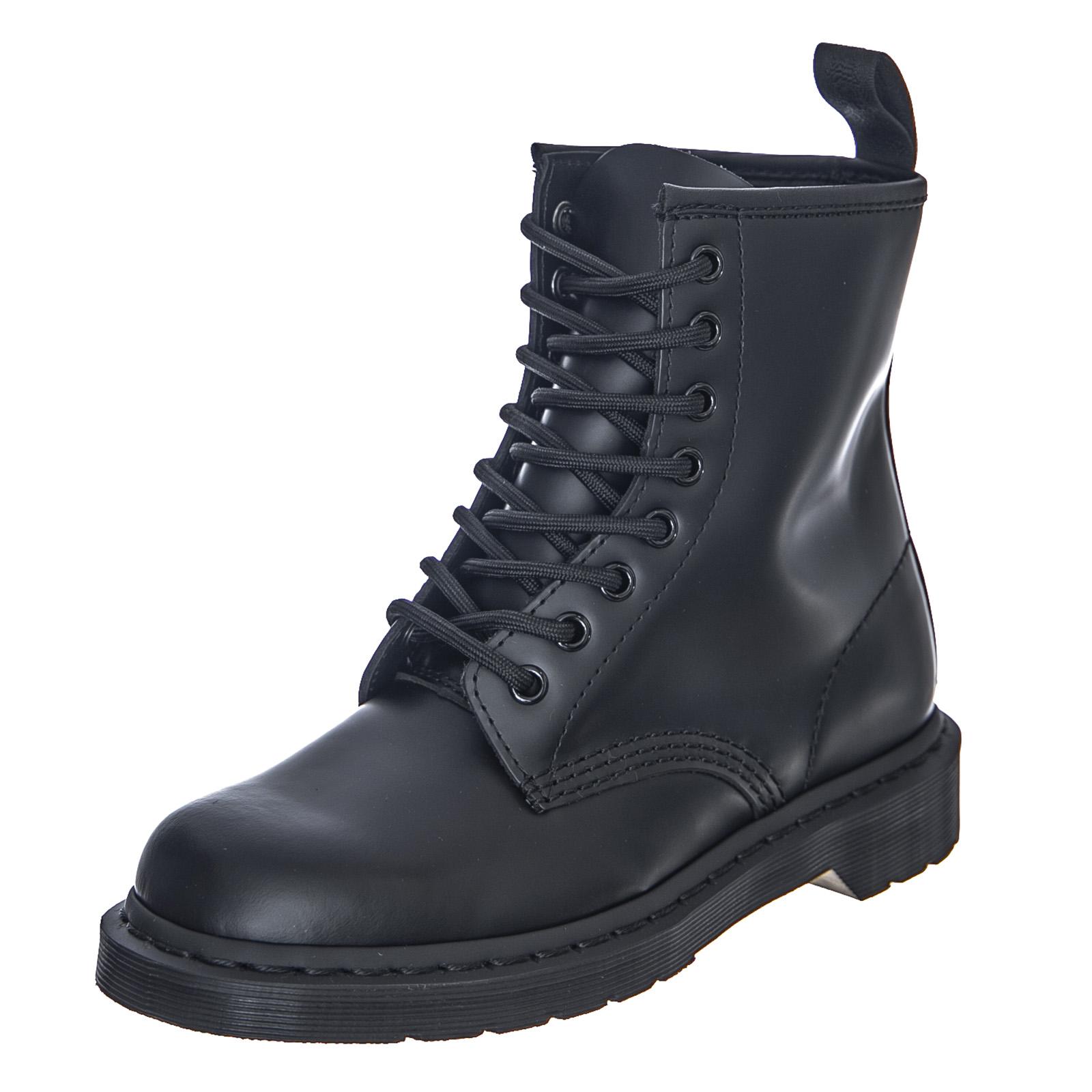 san francisco popular stores outlet for sale Details about Dr.Martens 1460 Mono - Black Smooth - Boots Man/Women Black