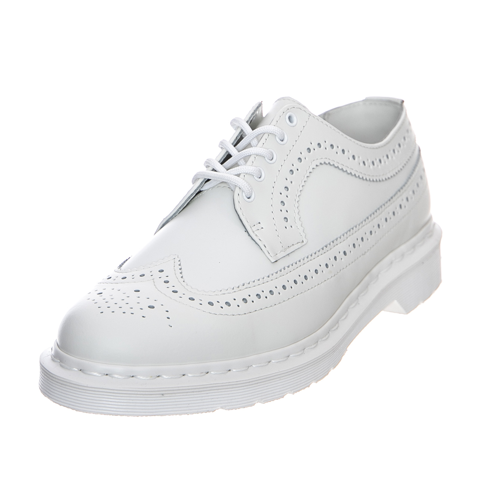 Details about Dr.Martens 3989 Mono Smooth White Shoes Low ManWoman White