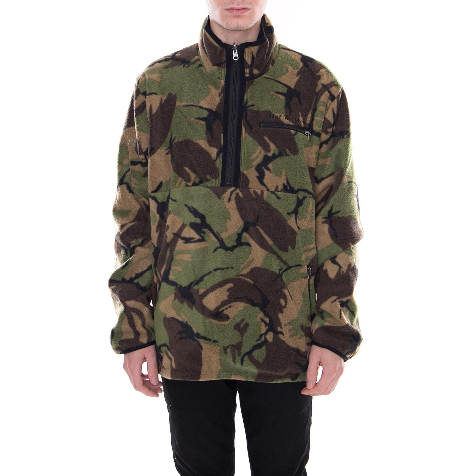 Jacket Noir Huf 1 Vestes Noir Zip Kumo Réversibles 4 qwAwR4F