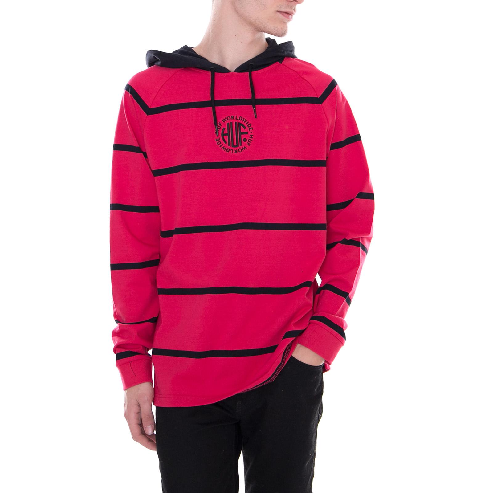 zwart Huf Rood Knit Transit Scarlet Violet Top Sweatshirts wCxAv7Yq