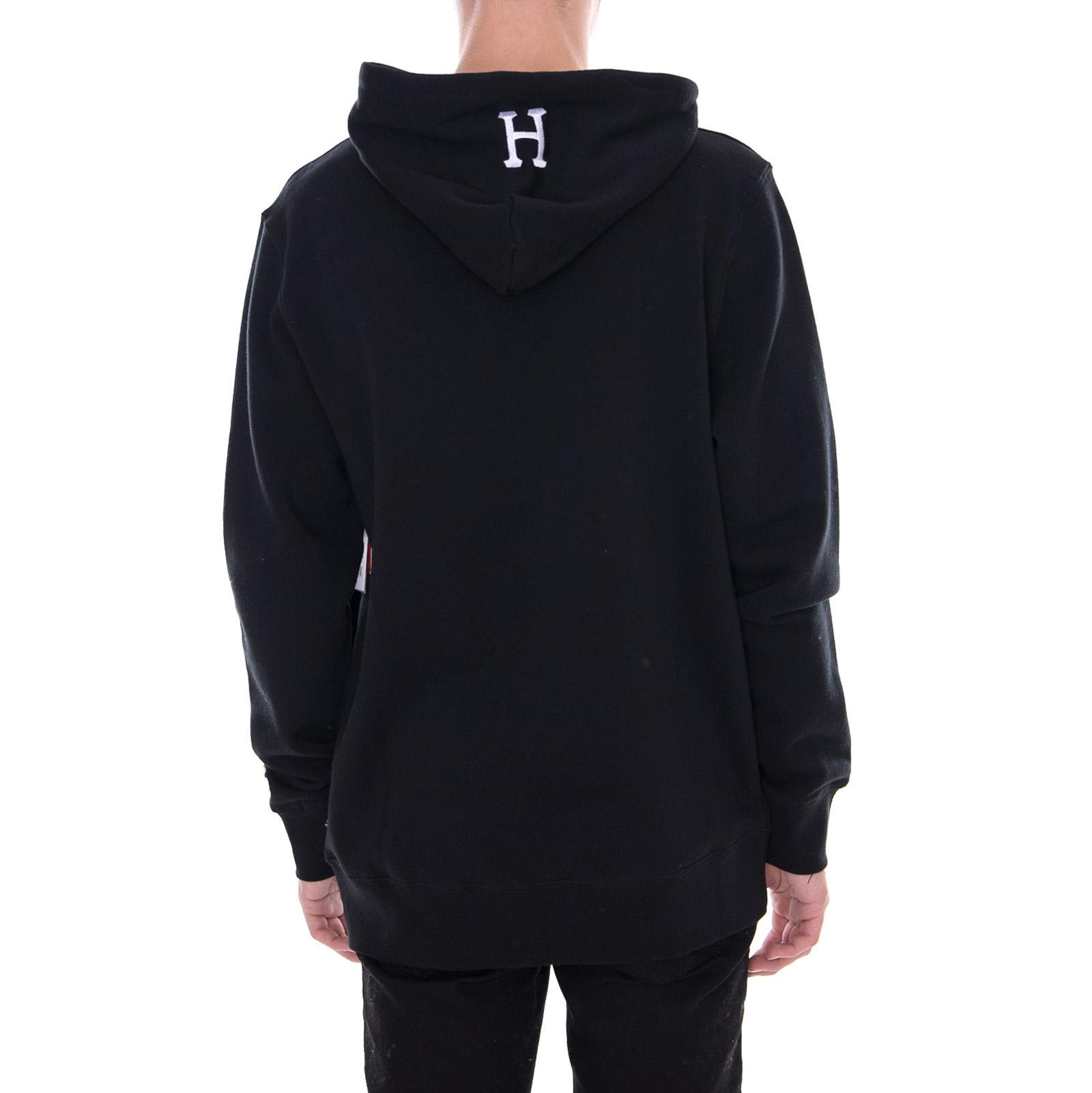 Loves Huf P Zwart Hoodie Peanuts Sweatshirts of Me ZxqnBa7w