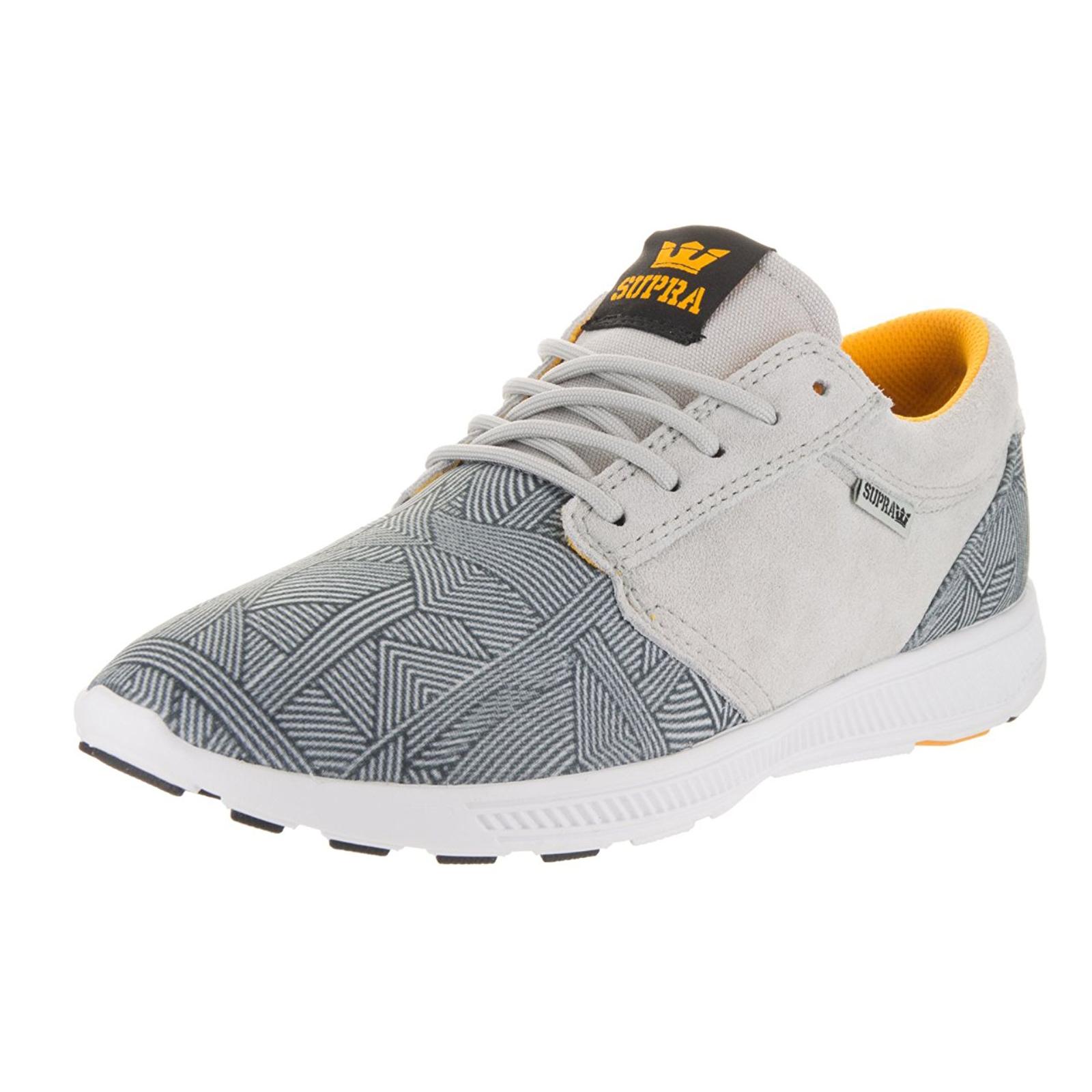 Supra Sneakers Hammer Run-Greypurple Print-White Grv grey