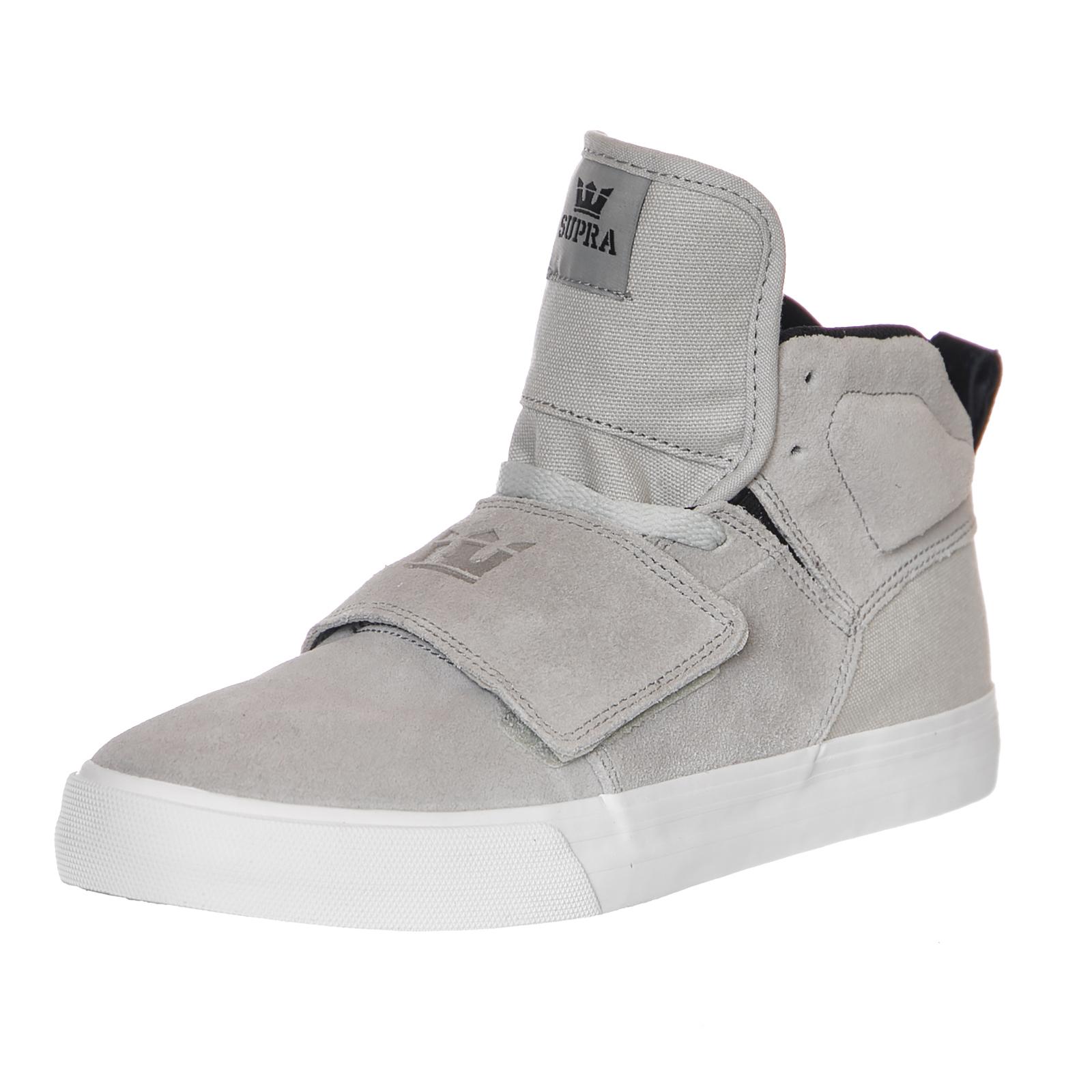 Supra Sneakers Rock Lt. Grey-White Cornerstone grey