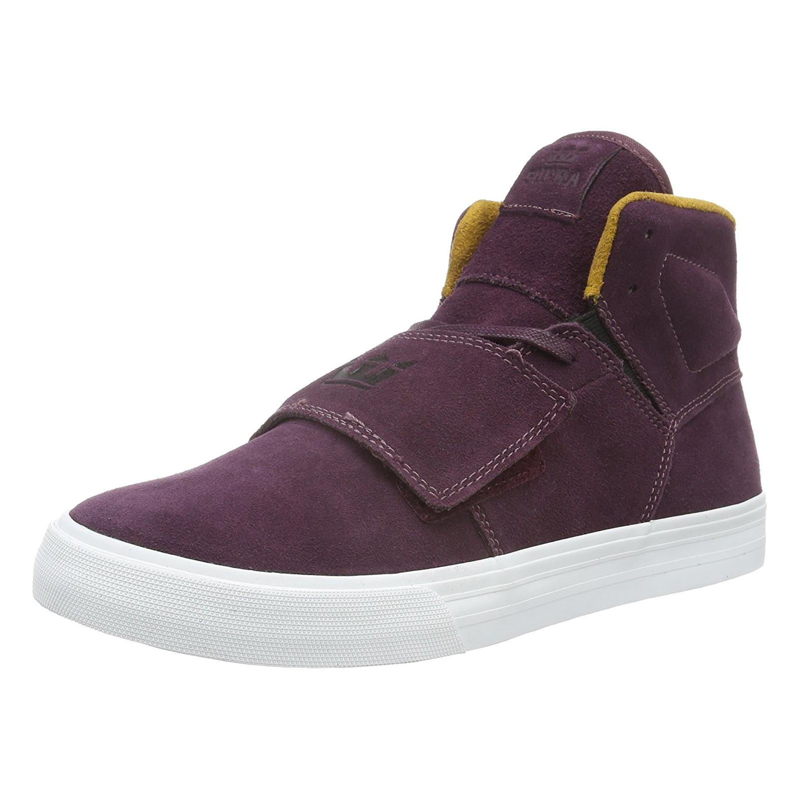 Supra scarpe da ginnastica Rock Burgundy oro-bianca Estate Viola       Exquisite (medio) lavorazione    Uomo/Donne Scarpa  0eef22