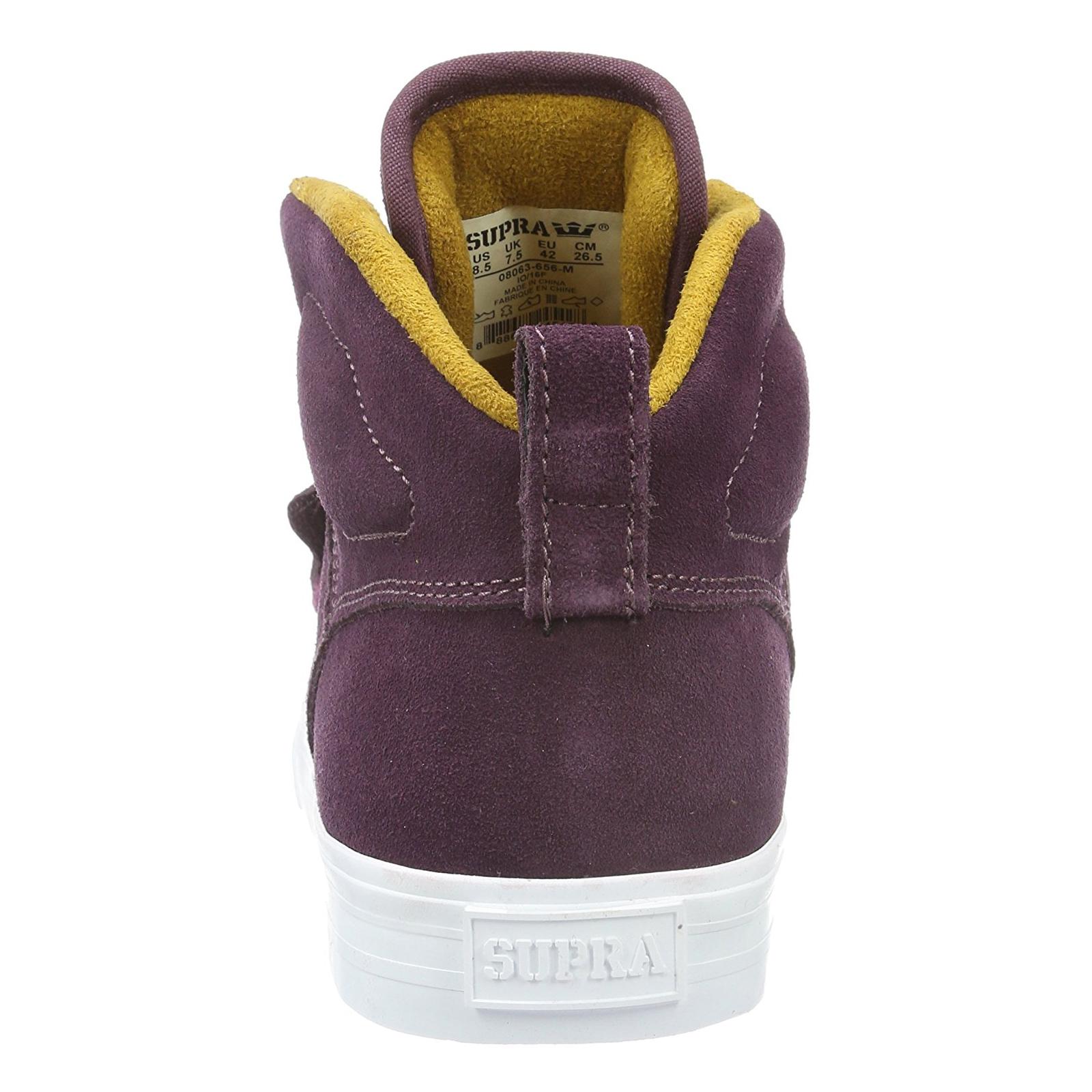 Estate Burgundy Sneakers Supra blanc Rock or Viola gnwfSq68x