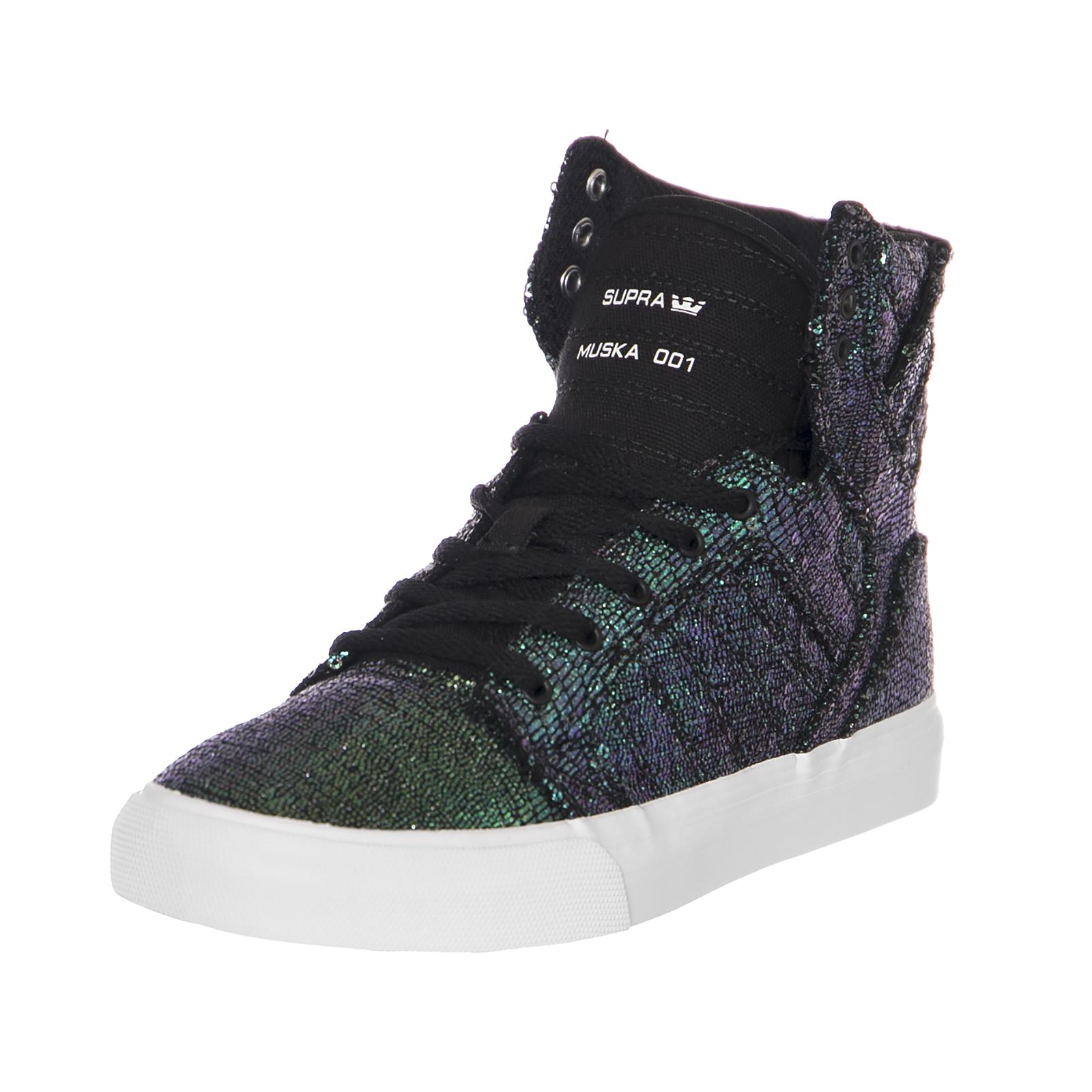 Black Sneakers Supra Sequin Skytop Cornerstone Kids NeroEbay dCtrxhsQ