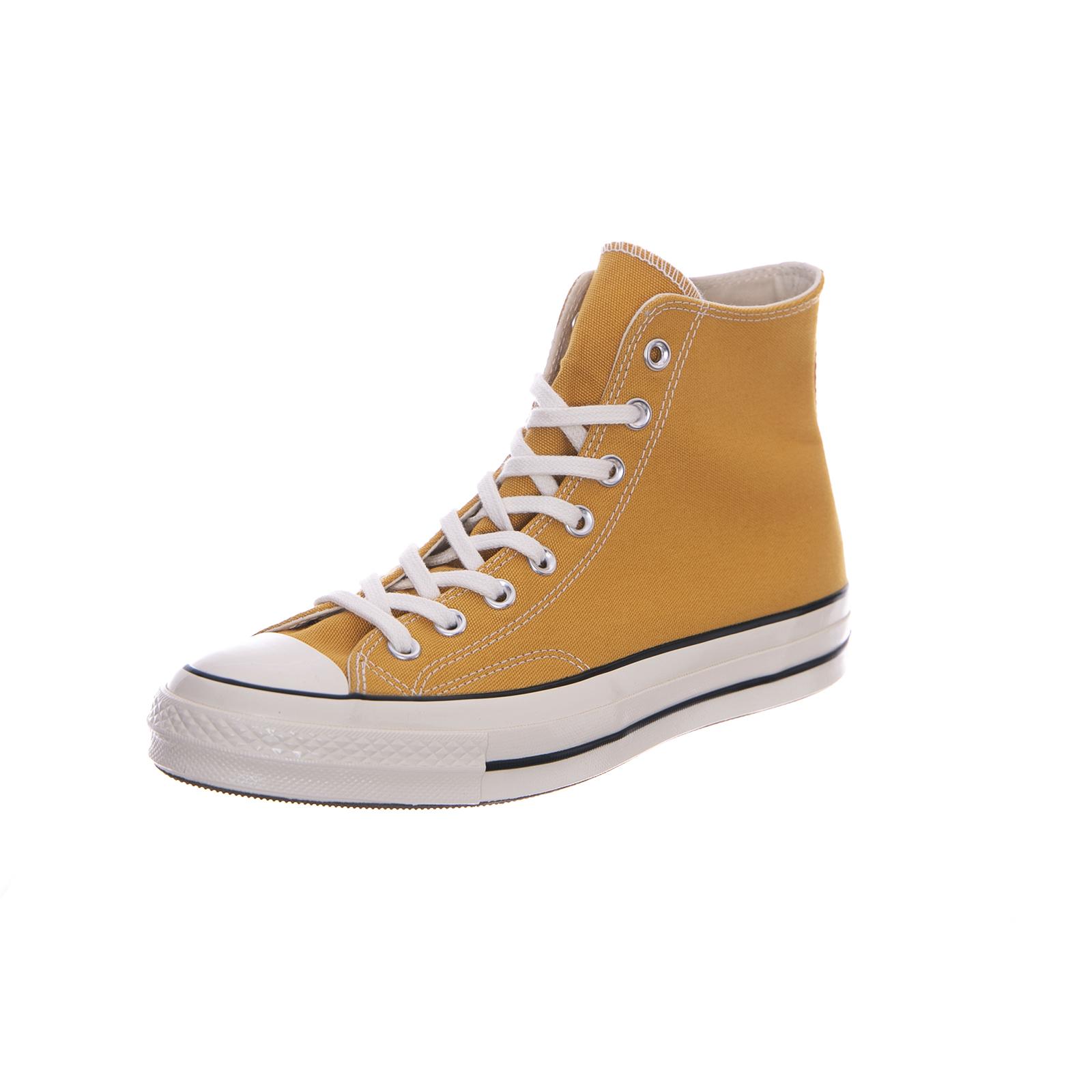 33b546cfc48 Converse sneakers chuck 70 hi vintage canvas sunflower black egret arancione