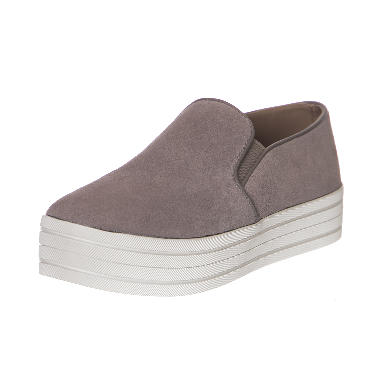 Steve Madden Sneakers Buhba Taupe Suede Marrone