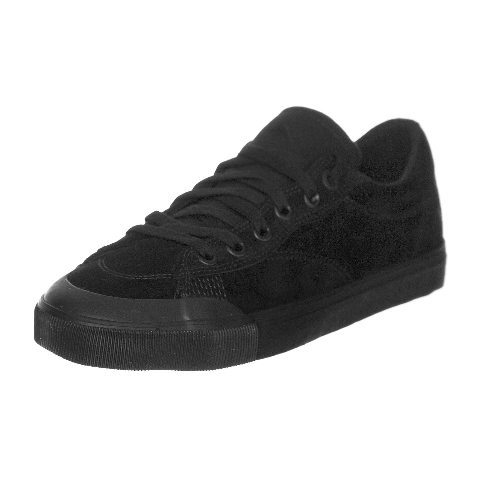 Emerica Zapatillas Indicador Bajo negro negro Goma Negro