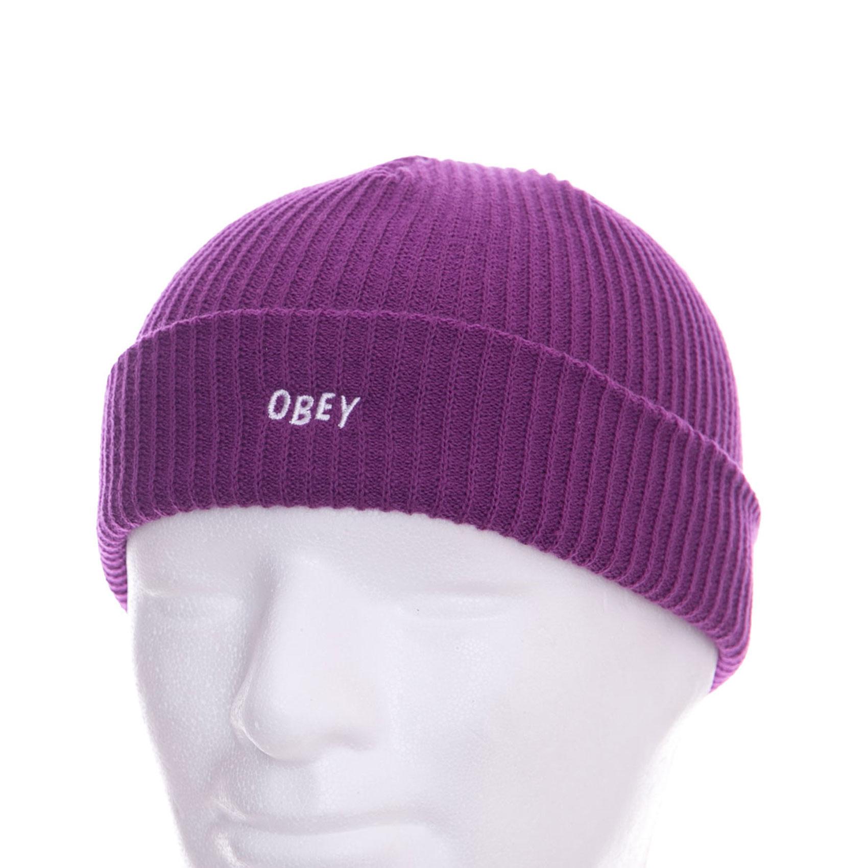 Obey Cappelli Hangman Beanie Plum Purple Viola  4f5e80de2266