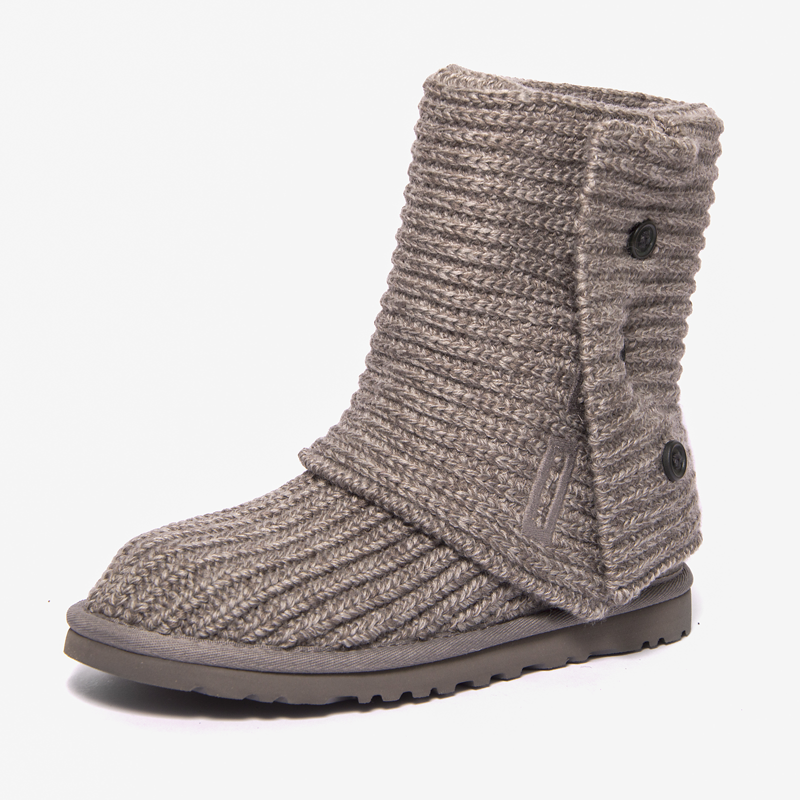 UGG shoes CLASSIC CARDY GREY WOMEN boots WOMEN's boots
