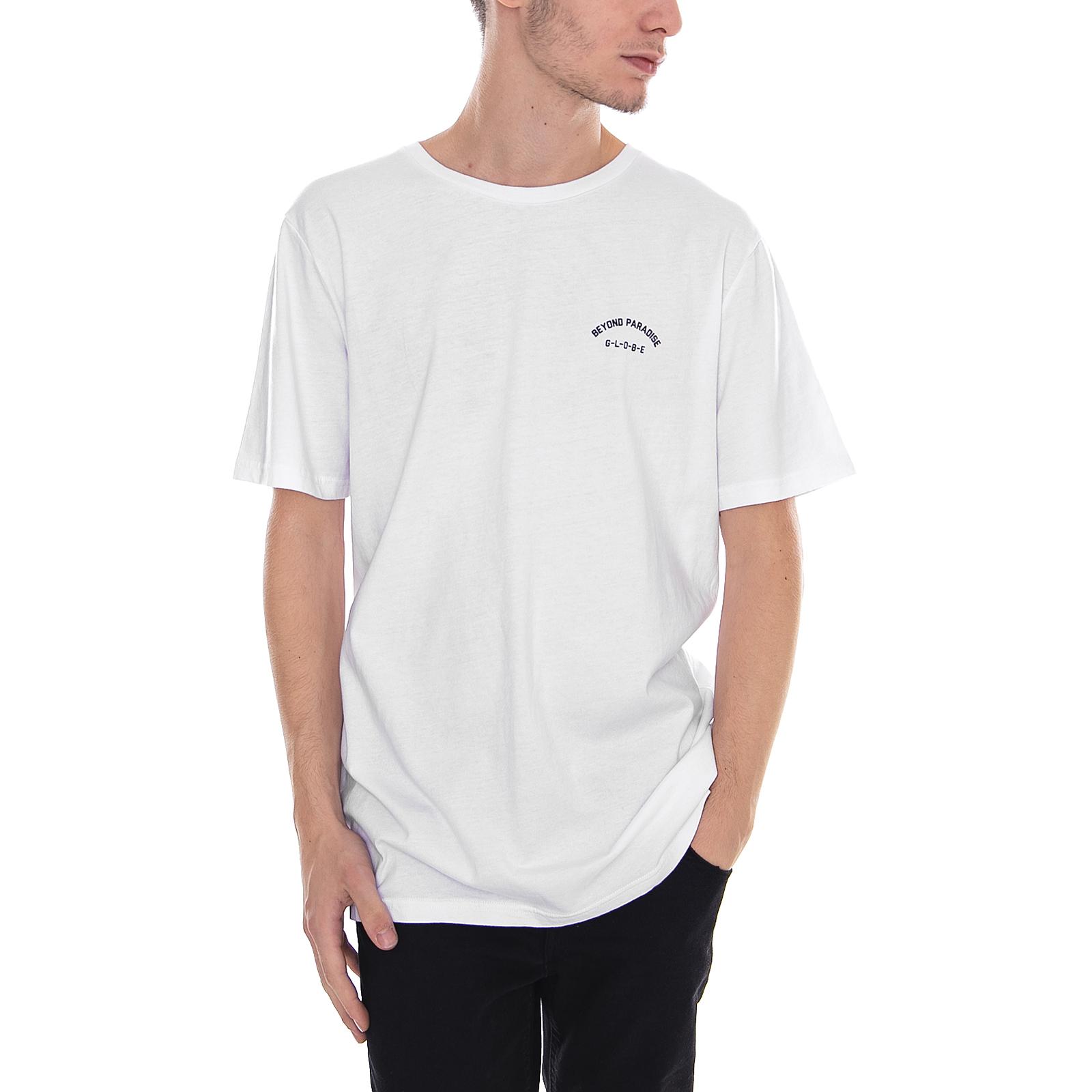 Globe T-Shirt Paradise Tee White White